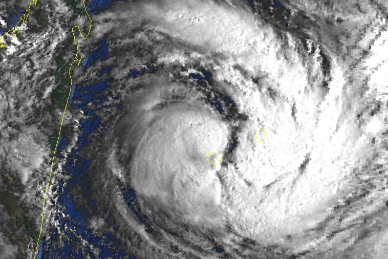 Cyclone Tropical CLOTILDA le 13/02/87