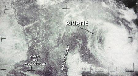 ARIANE CT 70KT (source IBTrACS)