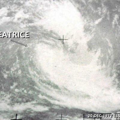BEATRICE CT 70KT (source IBTrACS)