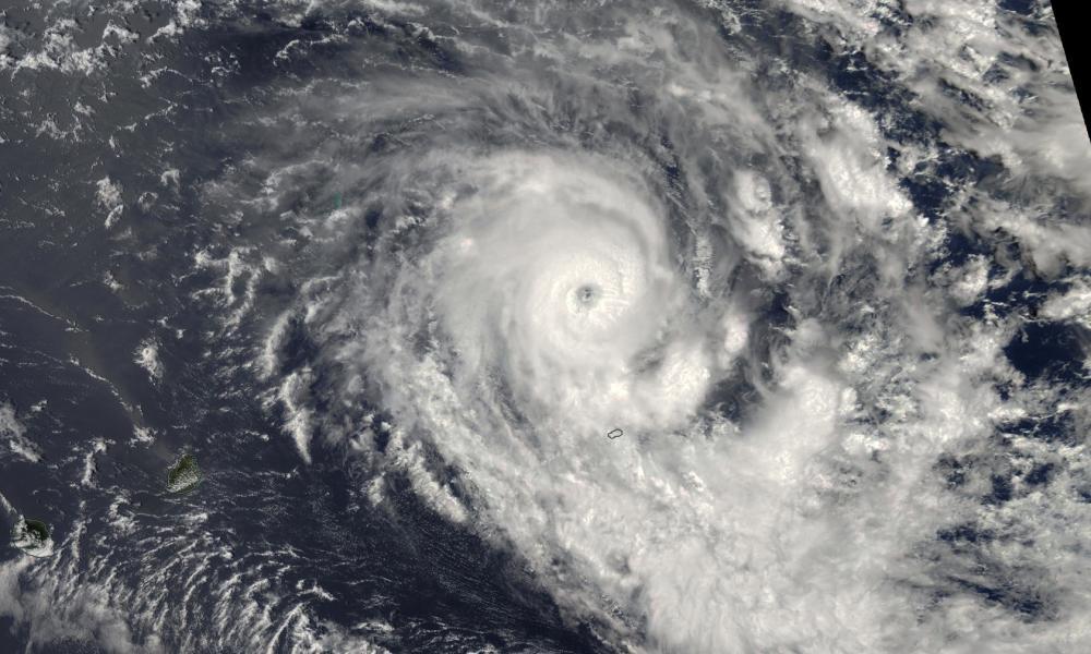 Cyclone tropical intense BERGUITTA le 15/01/2018 AQUA