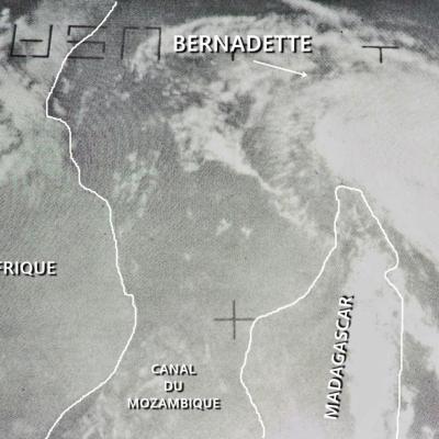 BERNADETTE TTM (40KT IBTrACS)