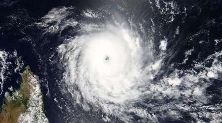 Cyclone Tropical Intense ALCIDE le 08/11/2018 TERRA
