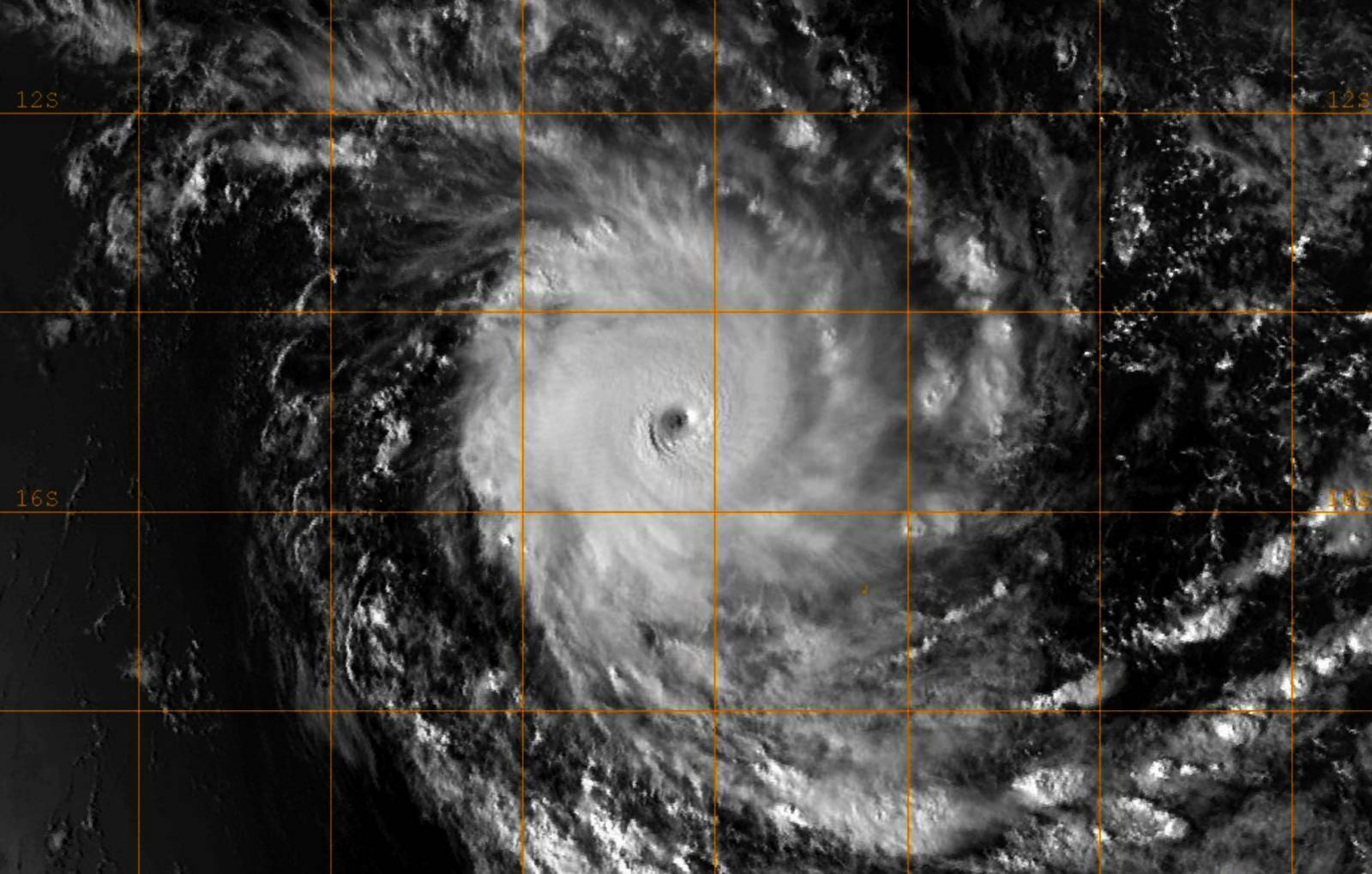Cyclone Tropical Intense CILIDA le 21/12/2018 F-17