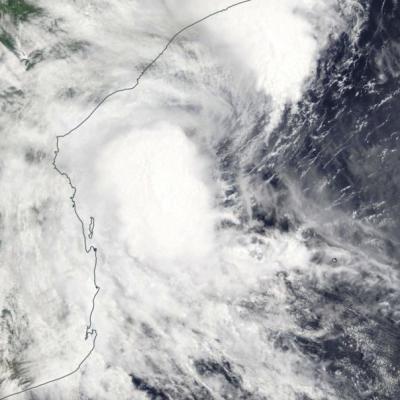 Tempête Tropicale Modérée DESMOND le 21/01/2019 TERRA