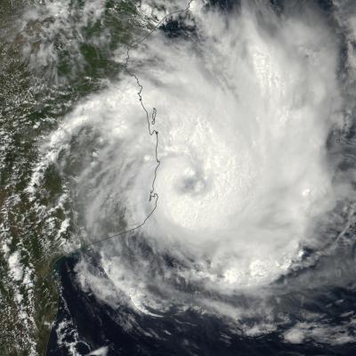 Cyclone DINEO le 15/02/2017-NPP