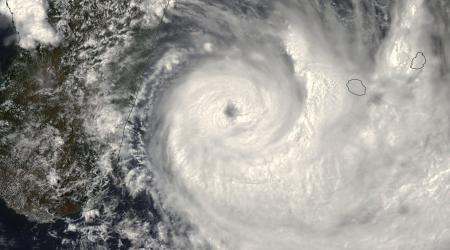 Cyclone Tropical DUMAZILE le 05/03/2018 AQUA