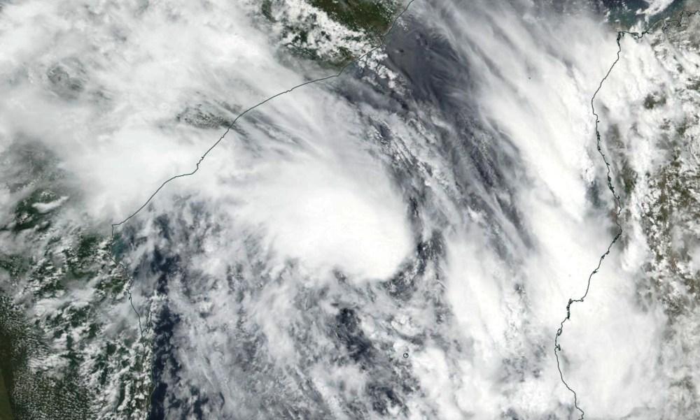 Tempête Tropicale Modérée EKETSANG le 23/01/2019 TERRA