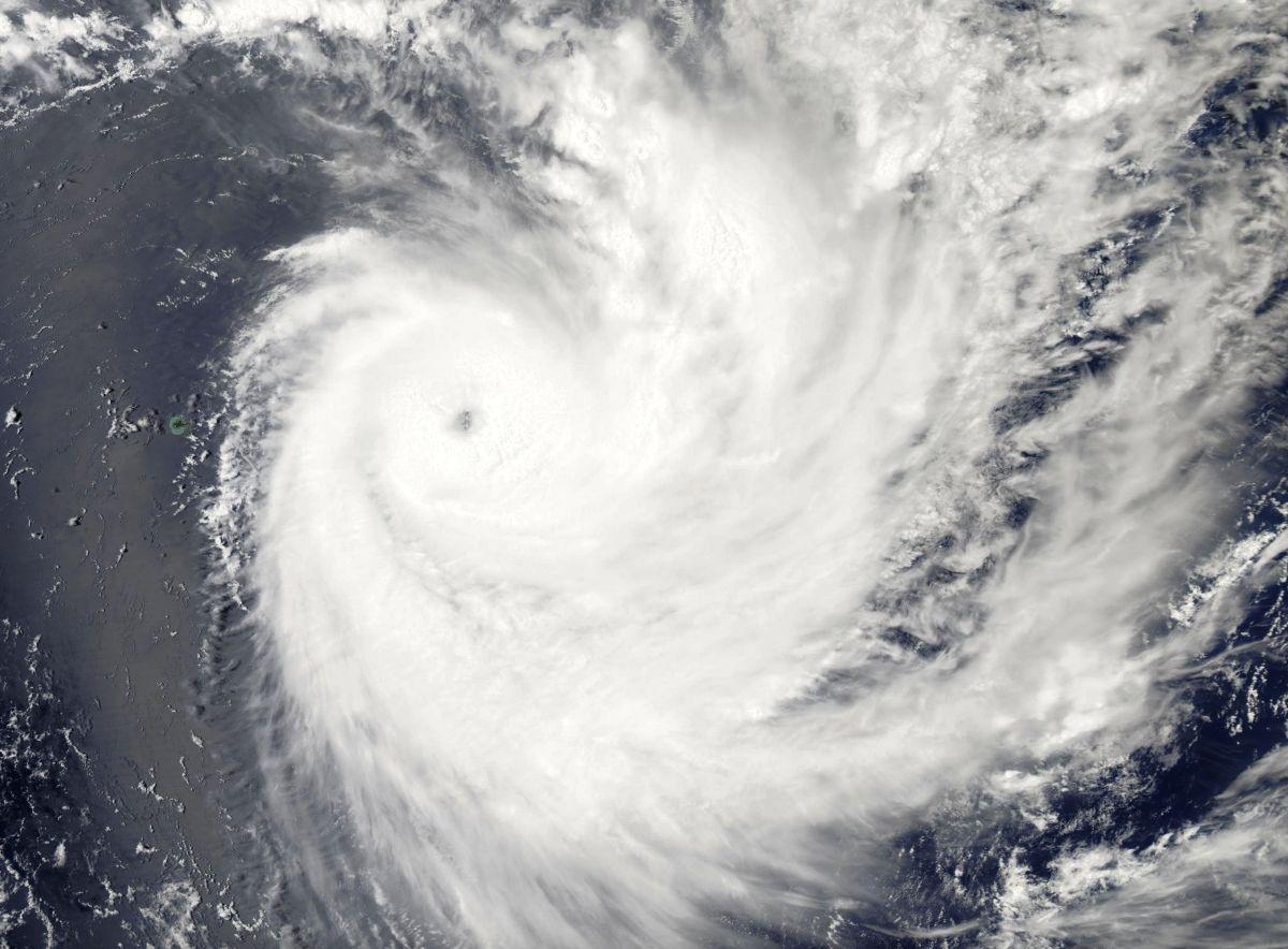 Cyclone Tropical Intense FUNANI le 07/02/2019 AQUA
