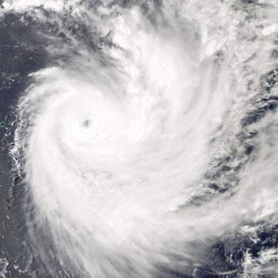 Cyclone Tropical Intense FUNANI le 07/02/2019 AQUA