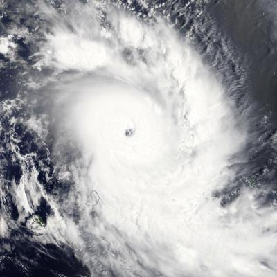 Cyclone Tropical Intense GELENA le 09/02/2019 TERRA