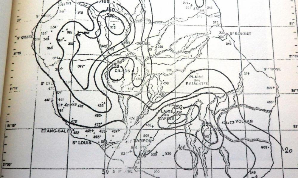 GINETTE (carte des précipitations)