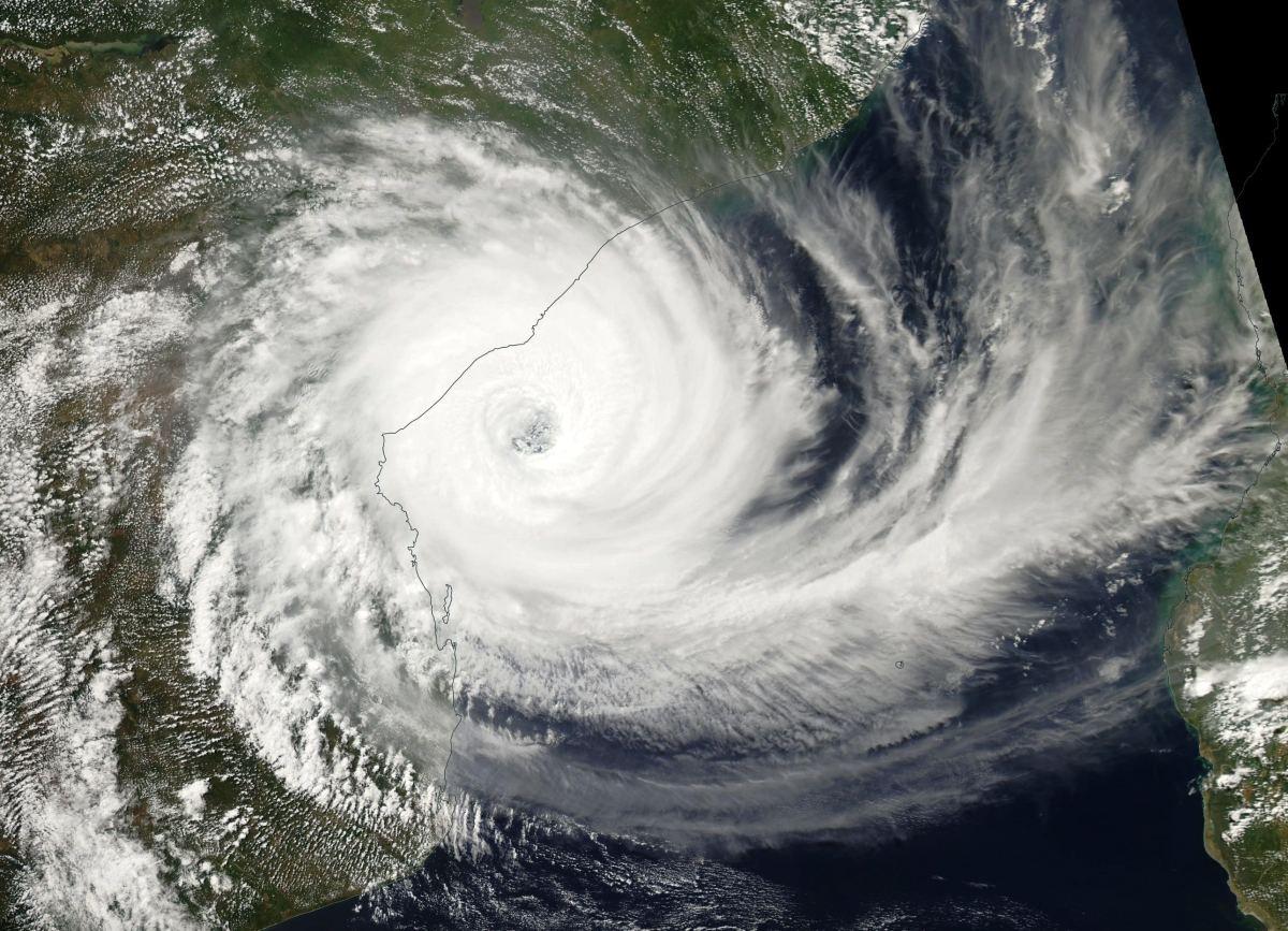 Cyclone Tropical Intense IDAI le 14/03/2019 AQUA
