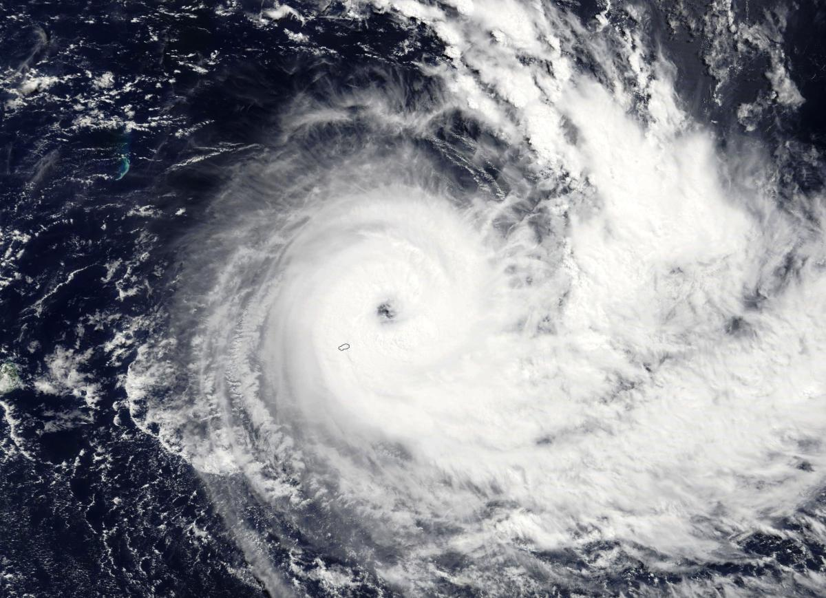 Cyclone Tropical Intense JOANINHA le 26/03/2019 TERRA