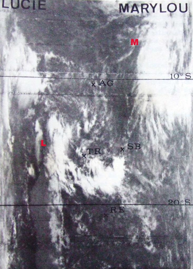 LUCIE TTM (45kt source IBTRACS)-MARYLOU FTT (55kt source IBTrACS)