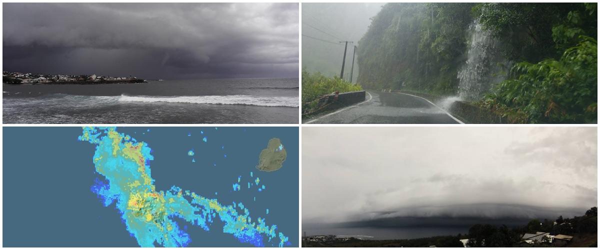 Forte pluie du 3 décembre à la Réunion