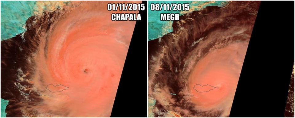 SOCOTRA frappé en 1 semaine par 2 cyclones