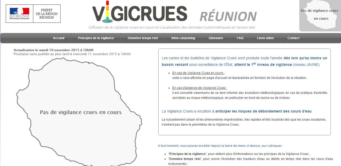 Site vigicrue
