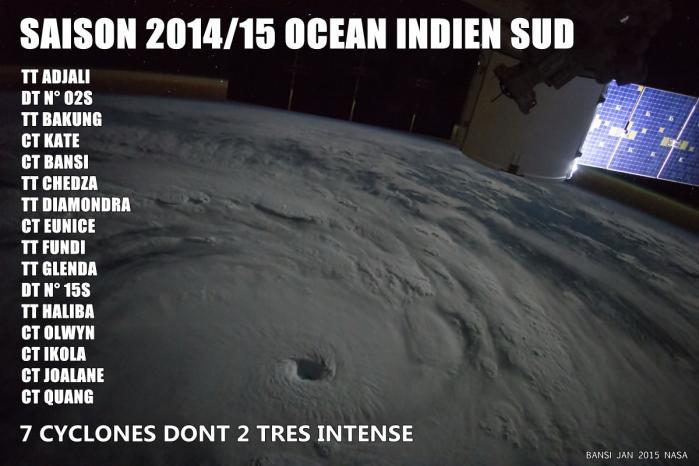 Saison cyclonique 2014/2015
