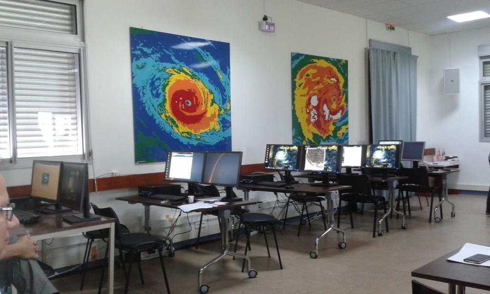Salle de formation des Météorologues