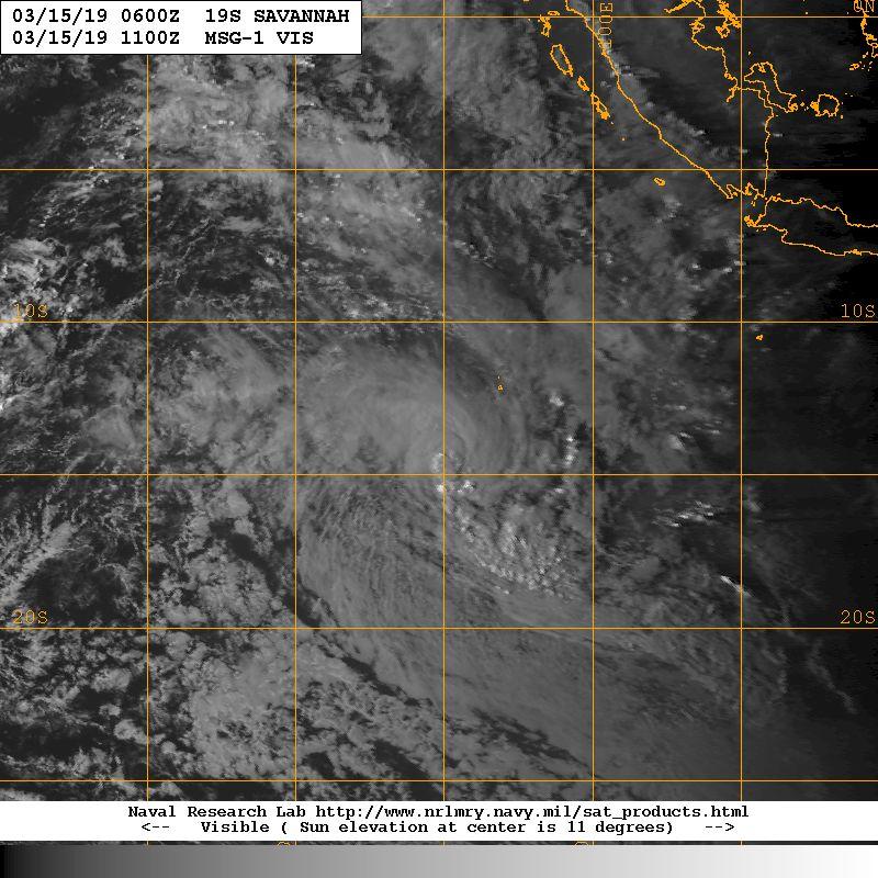 tempête tropicale SAVANNAH