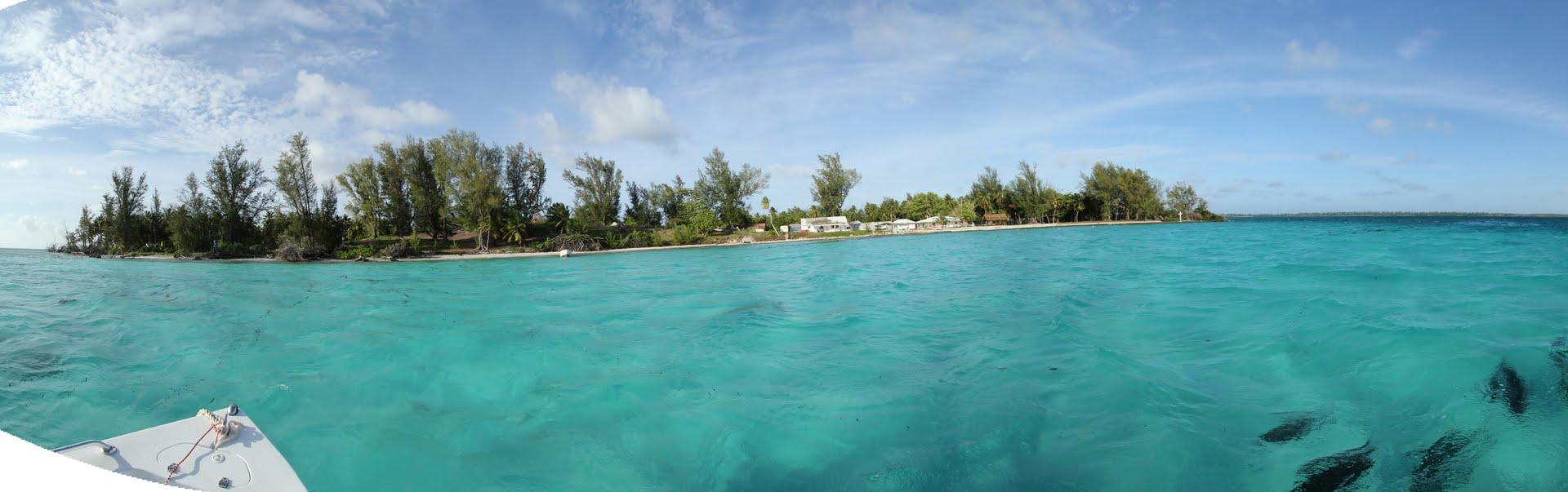 Village sur l'atoll FARQUHAR