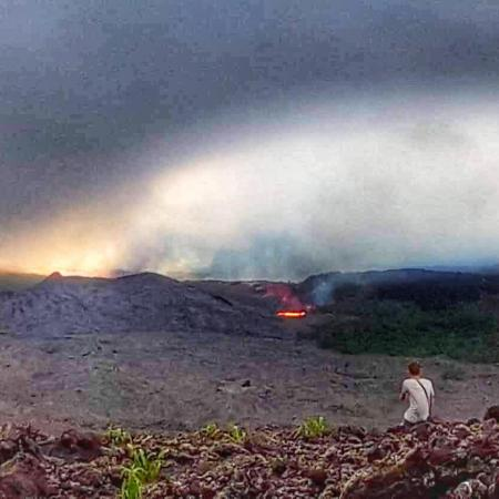 éruption piton de la fournaise