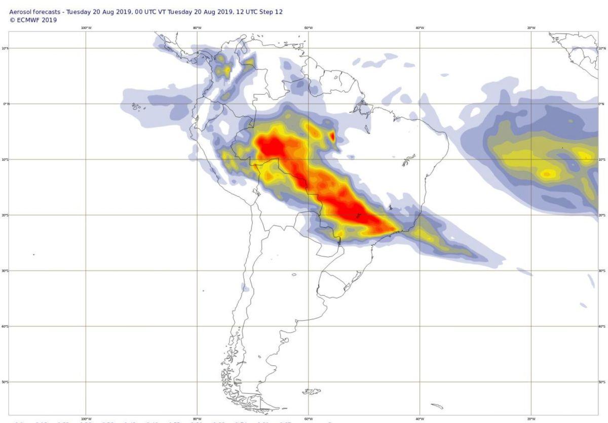 Aerosol amazonie