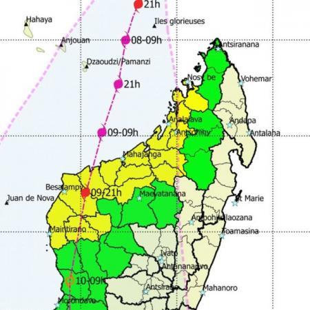 Alerte cyclone madagascar 1