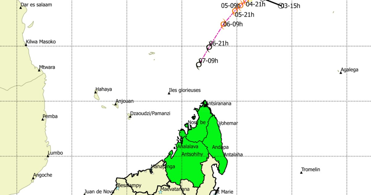 Alerte cyclonique madagascar 1
