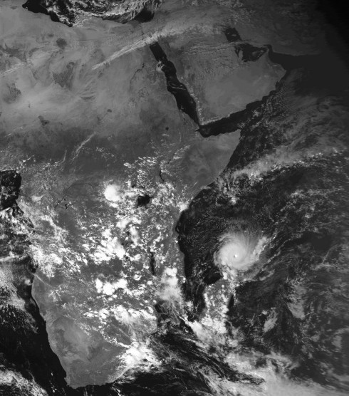 Cyclone Très Intense ANDRY 10 déc. 1983 (Kachelmann)