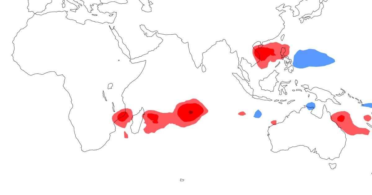 Anomalie densite tempete tropicale 2020 2021