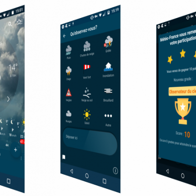 Application Météo France