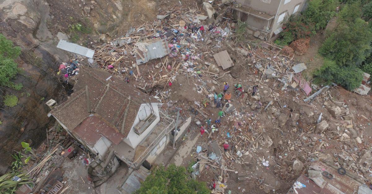 2è morts à madagascar après les fortes pluies et la tempête EKETSANG
