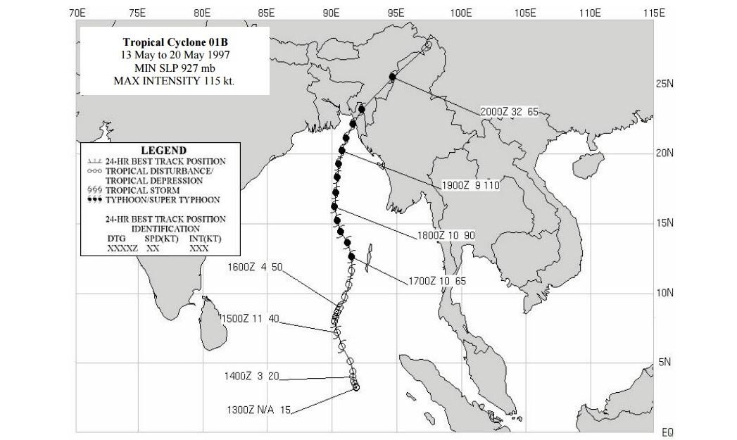 Cyclone 01B mai 1997