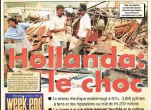 cyclone hollande presse
