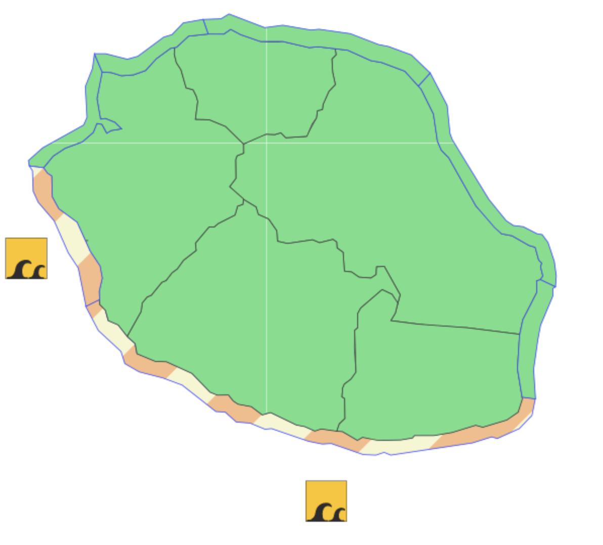 vigilance forte houle la Réunion