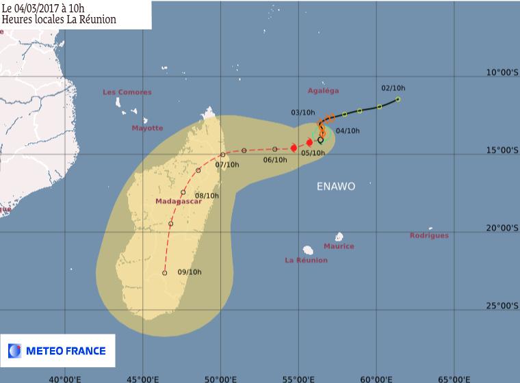 Point Météo France du 04/03/2017 à 10h