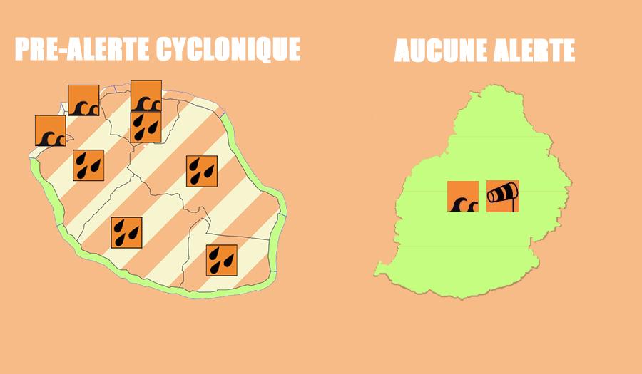 Vigilance en cours à la Réunion et Maurice