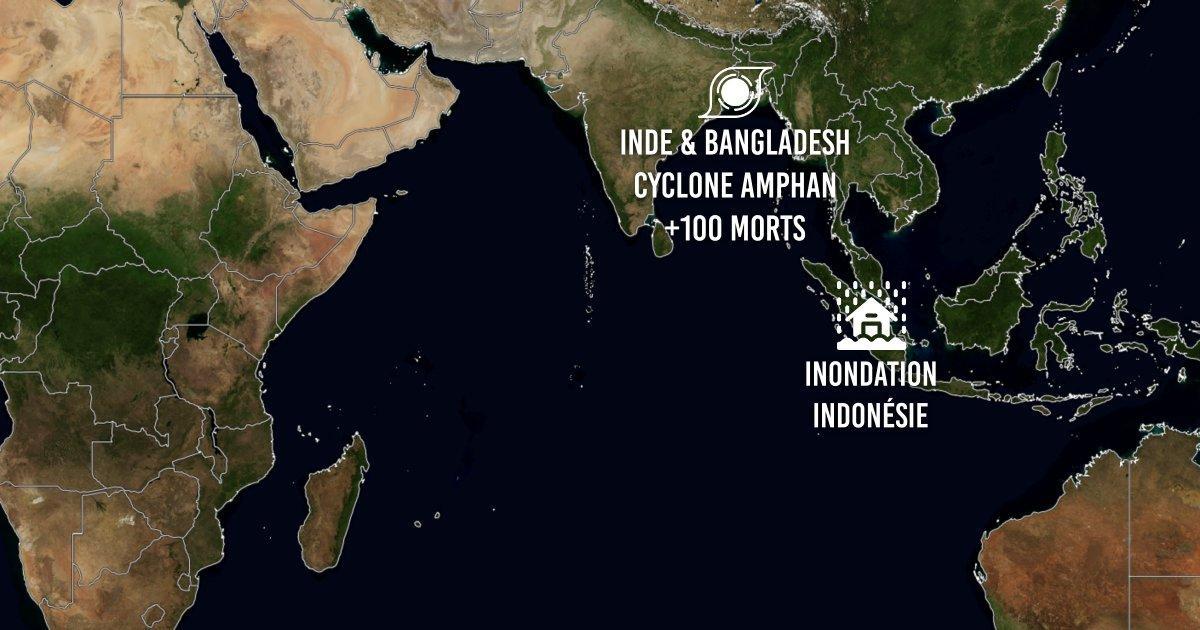 Catastrophe dans ocean indien