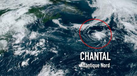 Chantal atlantique nord 2019