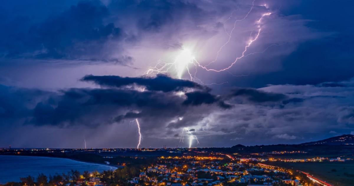 Storm hunter made in Reunion Island