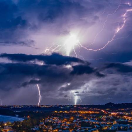 Chasseur d orage la reunion