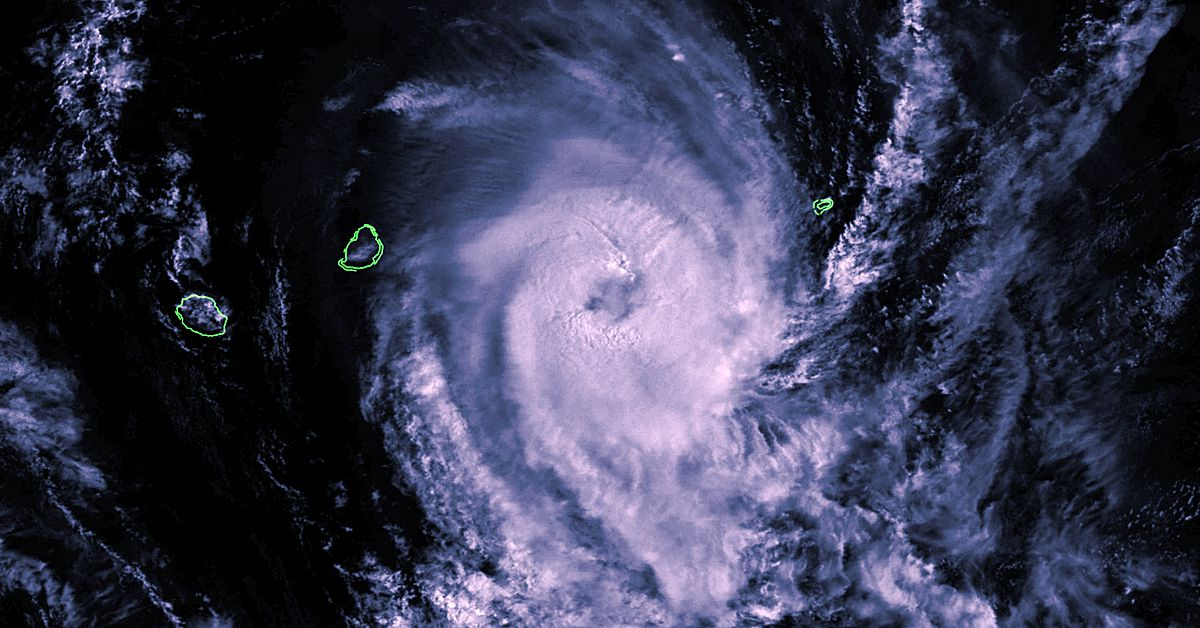 cyclone tropical Cilida