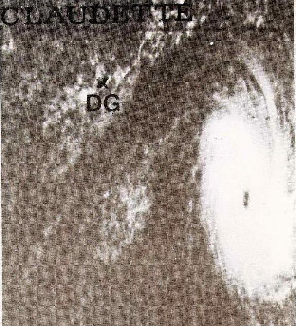 Cyclone Tropical Claudette le 17 décembre 1979 (Météo France)