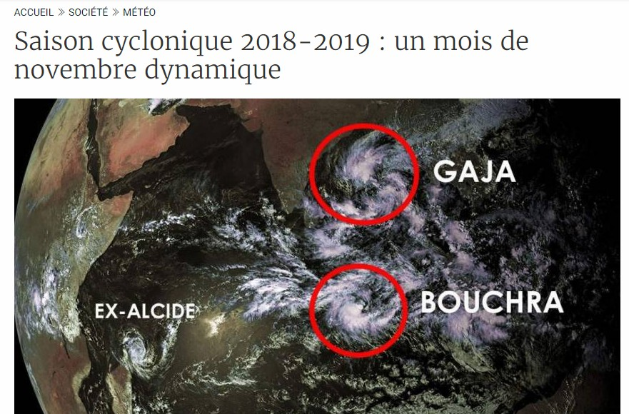 Article de cycloneoi.com sur clicanoo
