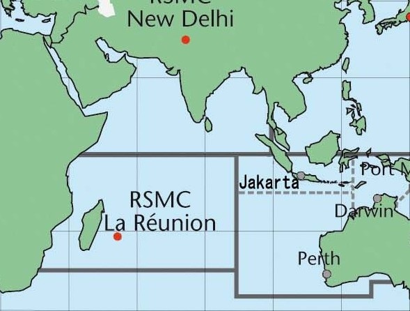 CMRS & TCWC de l'océan indien