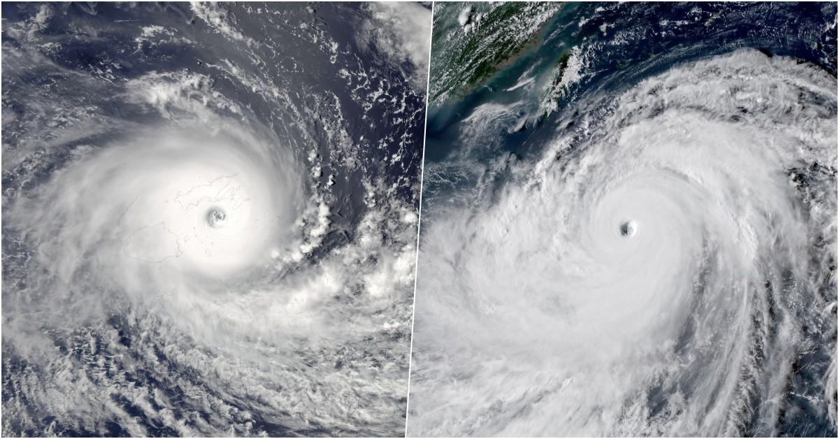 Infos Cyclone Pacifique