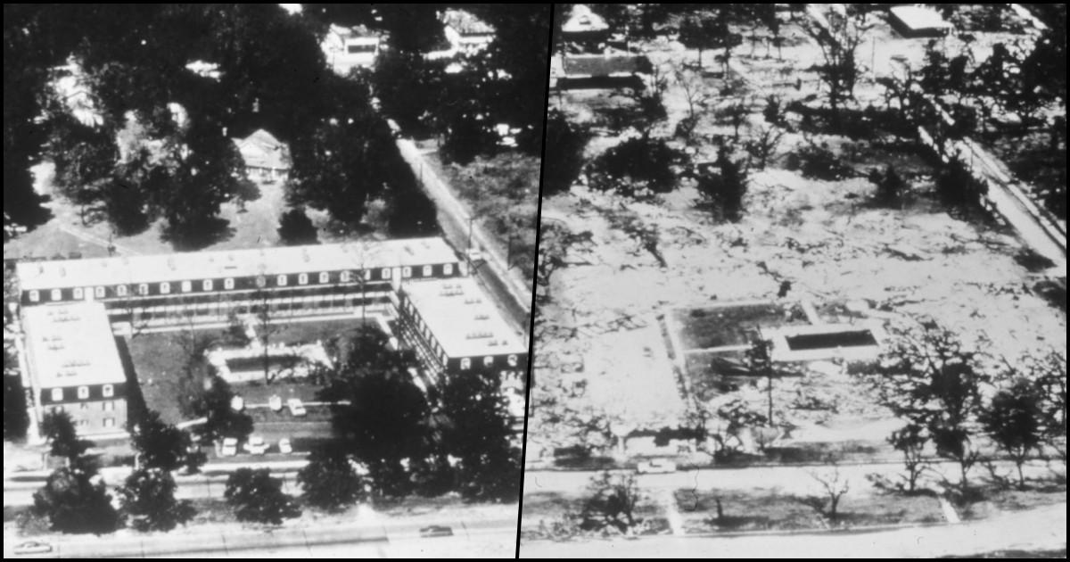 maison richelieu détruite par camille en 1969
