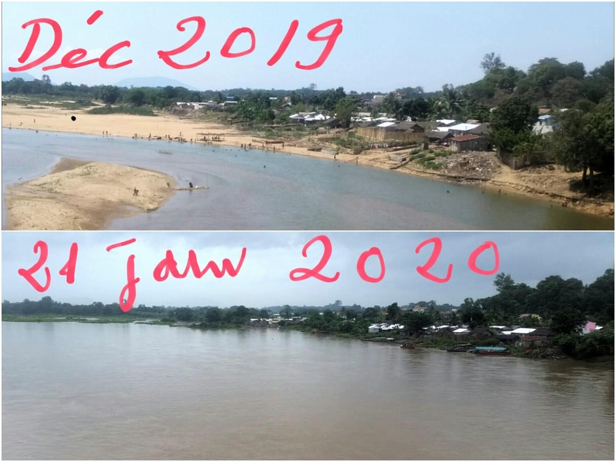 Rivière Sambirano en crue