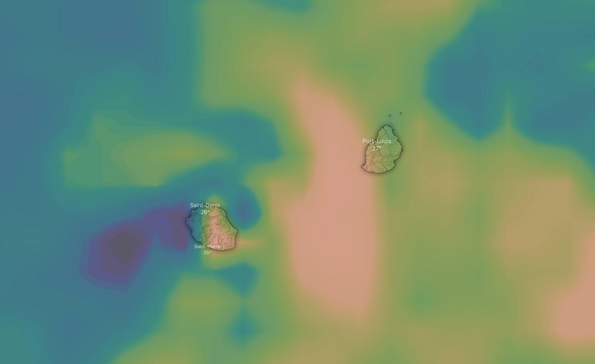 cumul pluviométrique GFS